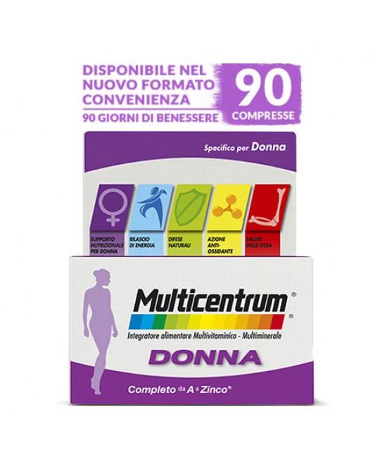 Multicentrum Donna Integratore Alimentare 90 Compresse - Zfarmacia