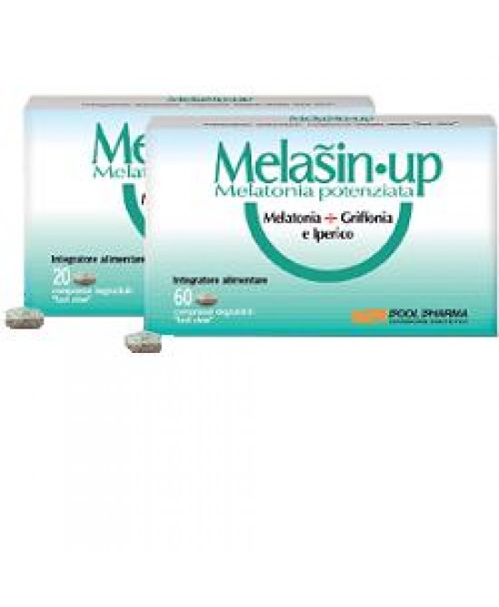 Pool Pharma Melasin-up Melatonina+Grifonia Integratore Sonno 60 Compresse - La tua farmacia online