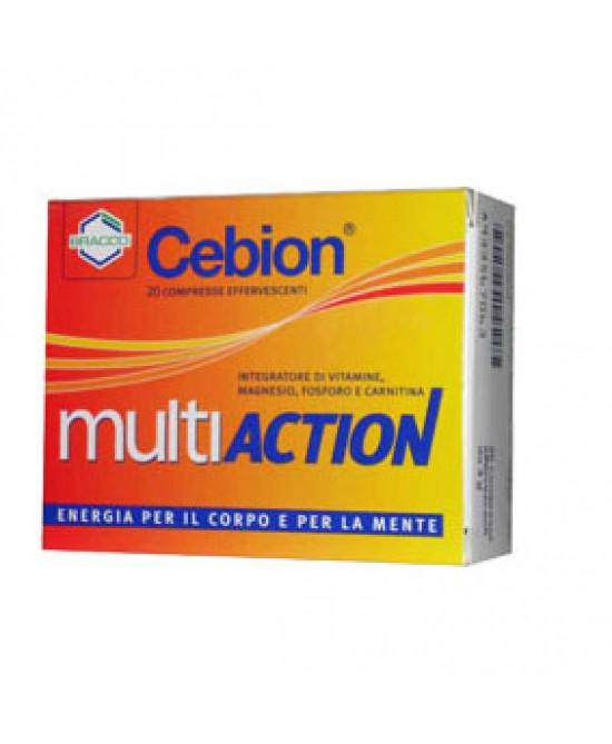 Cebion Multiaction Integratore Alimentare 20 Compresse Effervescenti - Farmalandia