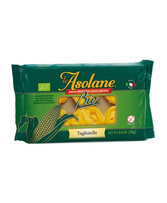 Le Asolane Tagliatelle Al Mais Biologico 250g - Zfarmacia