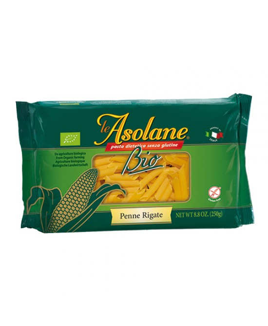 Le Asolane Penne Rigate Al Mais Biologico 250g - Zfarmacia