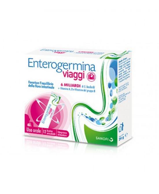 Enterogermina Viaggi 12 Bustine - Farmamille