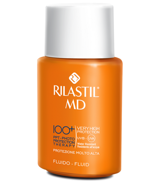 Rilastil MD 100+ Fluido 75ml - farma-store.it