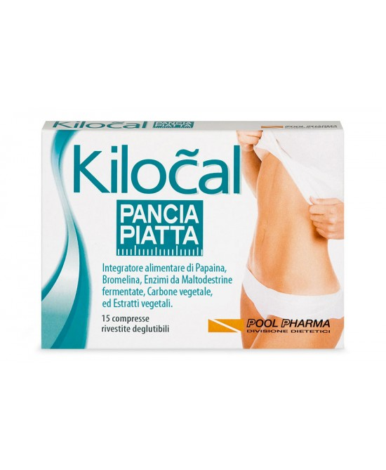Kilocal Pancia Piatta Integratore Alimentare 15 Compresse - farma-store.it