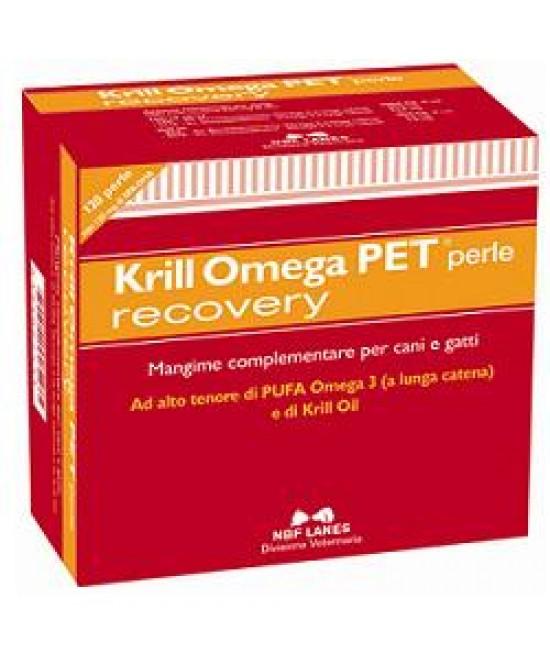 Krill Omega Pet Recovery120prl - FARMAEMPORIO