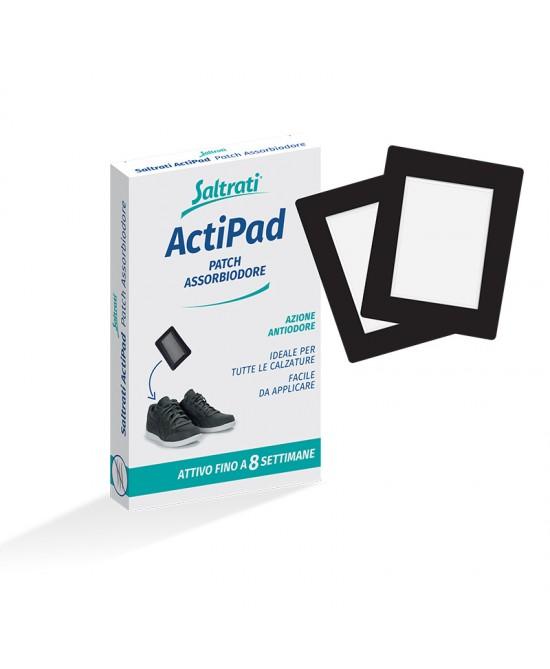 Saltrati ActiPad Patch Assobiodore 2 Patch - Farmacento