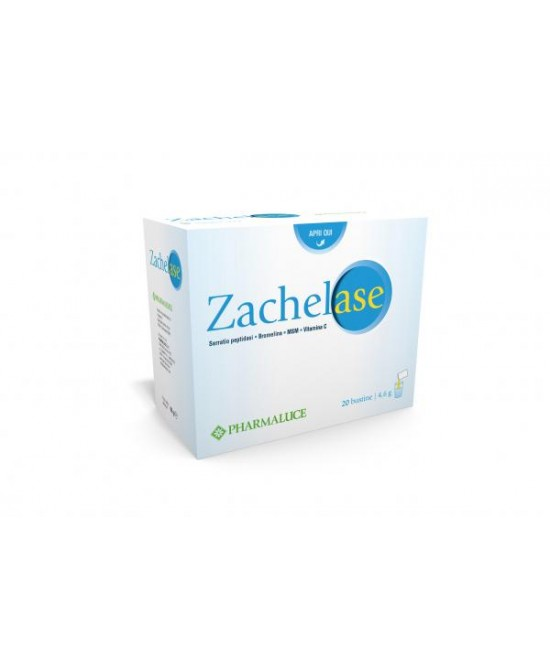 Pharmaluce Zachelase Integratore Alimentare 20 Bustine - Zfarmacia