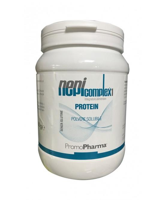 PromoPharma Nepicomplex1 Proteine In Polvere Gusto Cacao Senza Glutine 450g - Farmastar.it