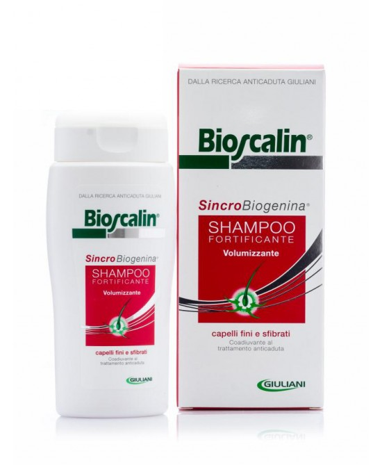 Giuliani Bioscalin Sincrobioargenina Shampoo Fortificante Volumizzante 200ml - Zfarmacia