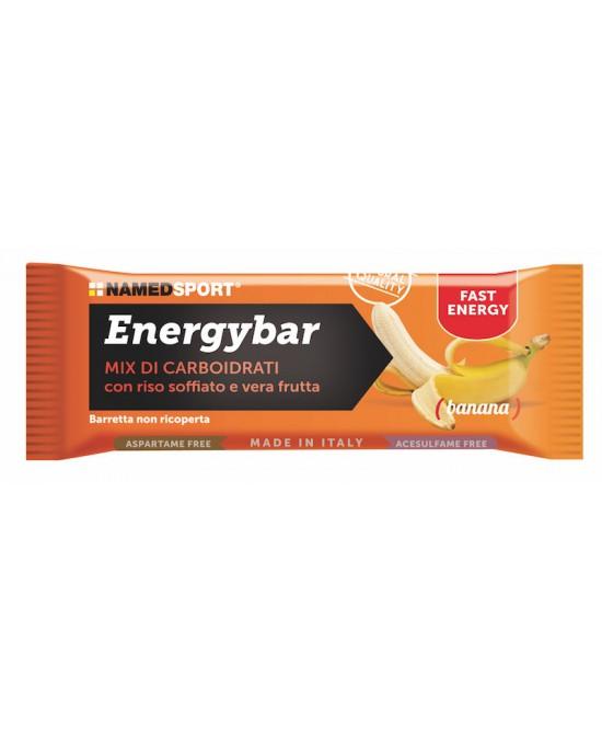 NamedSport Energybar Banana Integratore Alimentare Barretta 35g - farma-store.it