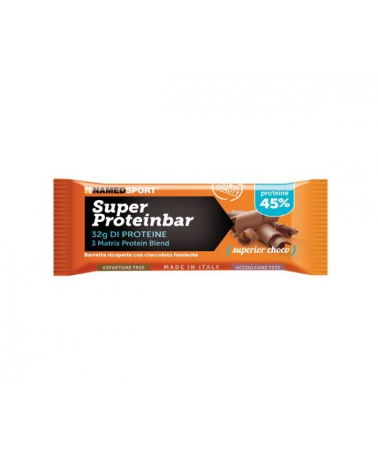 NamedSport Super Proteinbar Superior  Choco Integratore Alimentare 70g - farma-store.it
