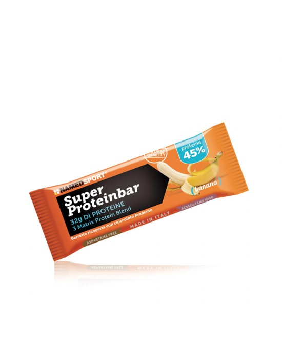 Named Sport Super Proteinbar Banana Integratore Alimentare 70g - Farmastar.it