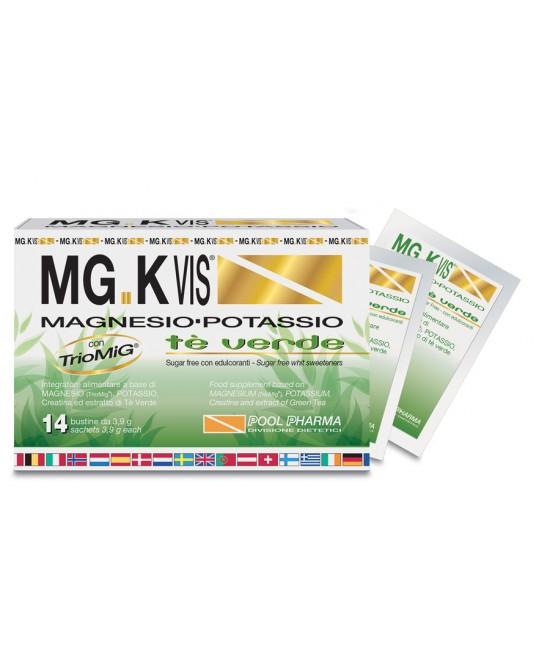 Pool Pharma Mgk Vis Tè Verde 14 Bustine - Zfarmacia