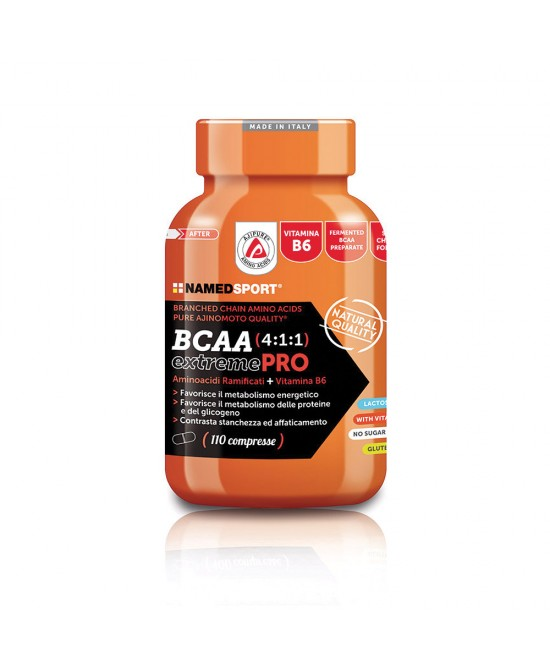 Named Bcaa 4:1:1 ExtremePro Integratore Alimentare 110 Compresse - Farmamille