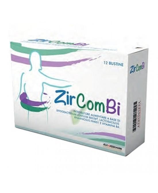 Alfa Wassermann ZirComBi Integratore Alimentare 12 Bustine Da 3g - Farmacia 33