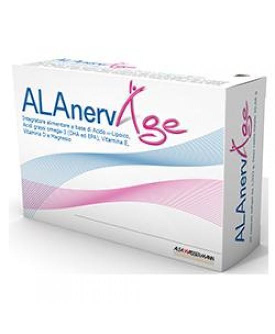 Alfa Wassermann Alanerv Age 20 Capsule Softgel - La tua farmacia online