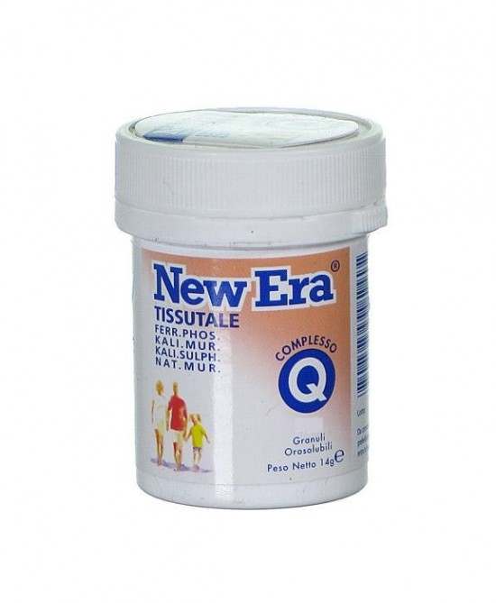 Named New Era complesso Q Integratore Alimentare 240 Granuli - Zfarmacia