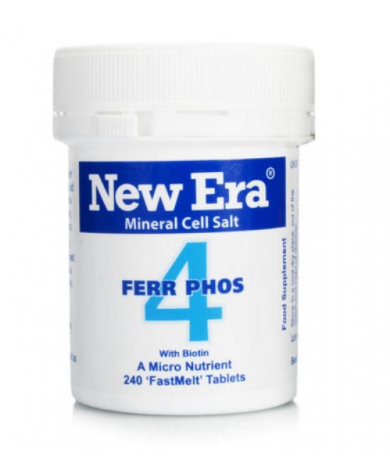 Named New Era 4 Ferroso Phosphate Integratore Alimentare 240 Granuli - Farmastar.it