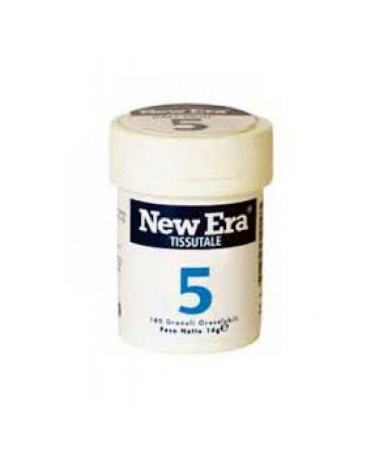 New Era 5 Integratore Alimentare 240 Granuli - Farmacia 33