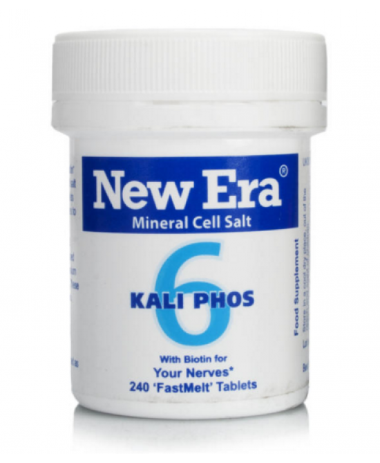 New Era 6 Kalium Phosphoricum Integratore Alimentare 240gr - Zfarmacia