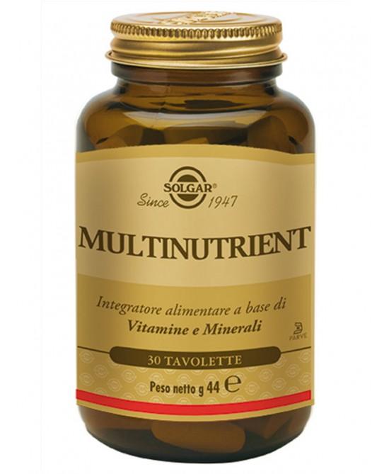 Solgar Multinutrient 30 Tavolette - FARMAEMPORIO