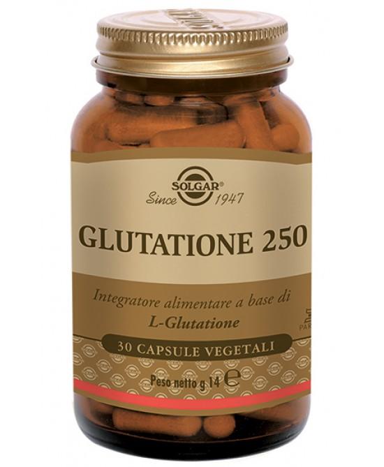 Glutatione 250 Integratore Alimentare 30 Capsule Vegetali - Farmacia 33