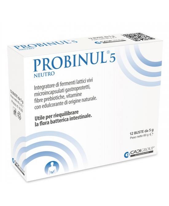 Probinul 5 Neutro 12 bustine - Zfarmacia