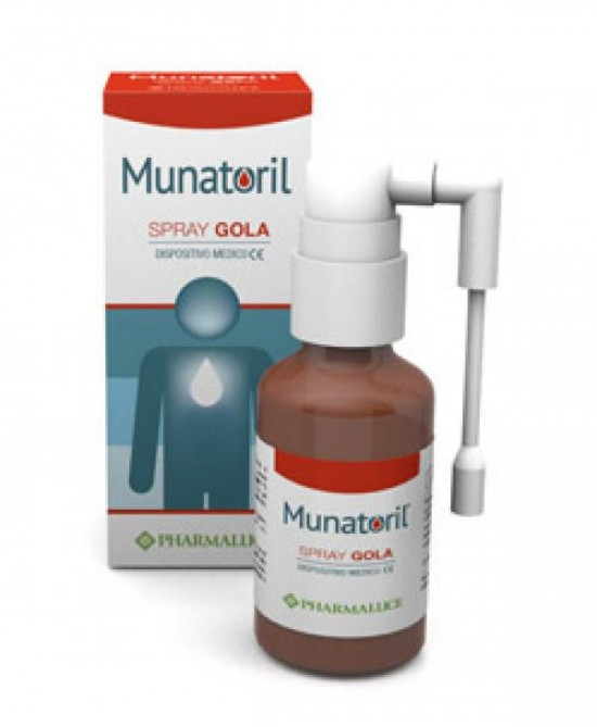 Pharmaluce Munatoril Spray Gola Dispositivo Medico 30ml - Farmawing