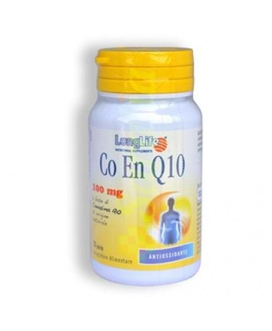 Longlife Co En Q10 Integratore Alimentare 20 Perle - Zfarmacia