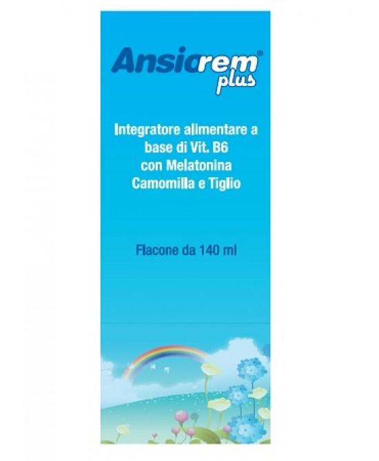 Ansiorem Plus Integratore Alimentare 140ml - Farmacento
