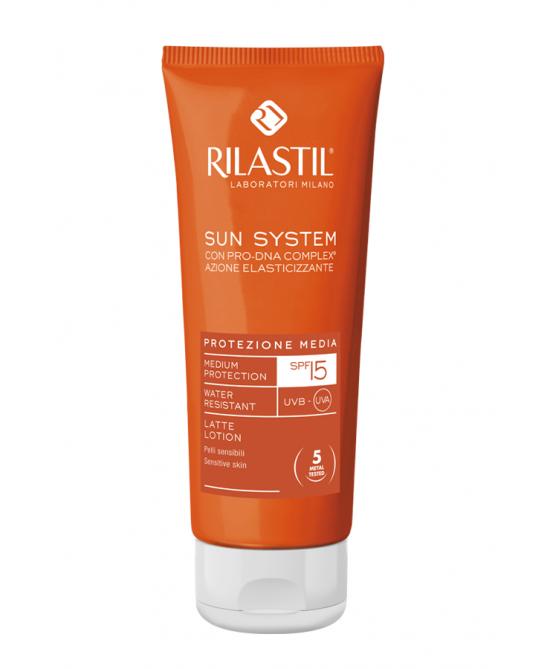 Rilastil Sun System PPT Latte Solare SPF15 50ml - FARMAPRIME