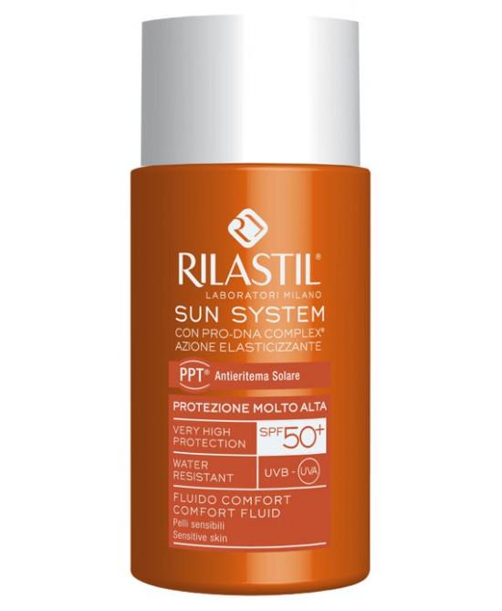 Rilastil Sun System PPT Fluido Comfort SPF50+ 50ml - La tua farmacia online