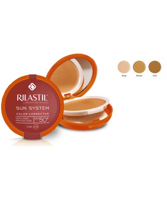 Rilastil Sun System PPT Correttore Del Colore SPF 50+ Tonalità 02 Dorè - La tua farmacia online
