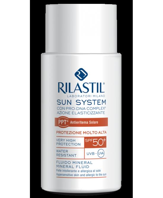 Rilastil Sun System PPT Fluido Mineral SPF50+ 50ml - Farmabravo.it