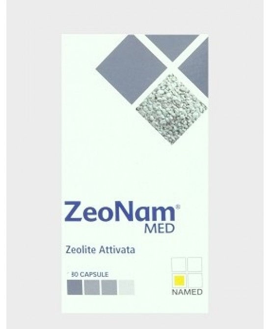 NAMED ZeoNam MED ZEOLITE ATTIVATA 80 CAPSULE - Farmawing