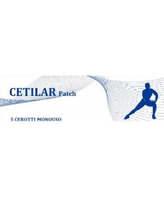 Cetilar Patch Cerotto Ad Azione Locale 5 Pezzi - La tua farmacia online