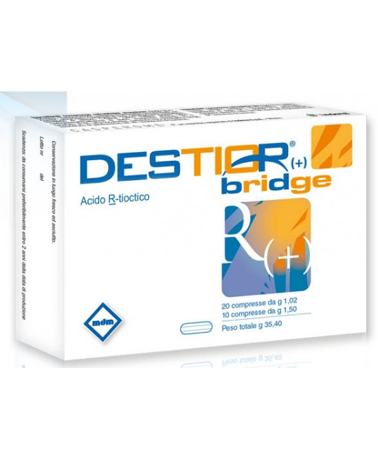 MDM Destior Bridge 30 Compresse - La tua farmacia online