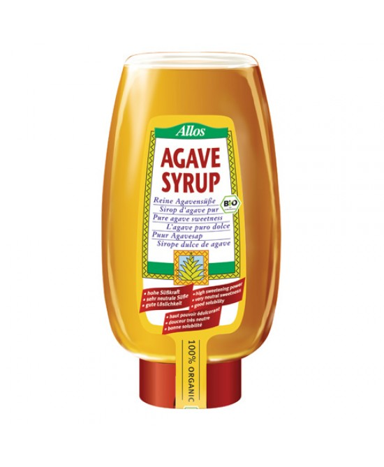 Allos Succo D'agave Con Squeeze 500ml - Zfarmacia