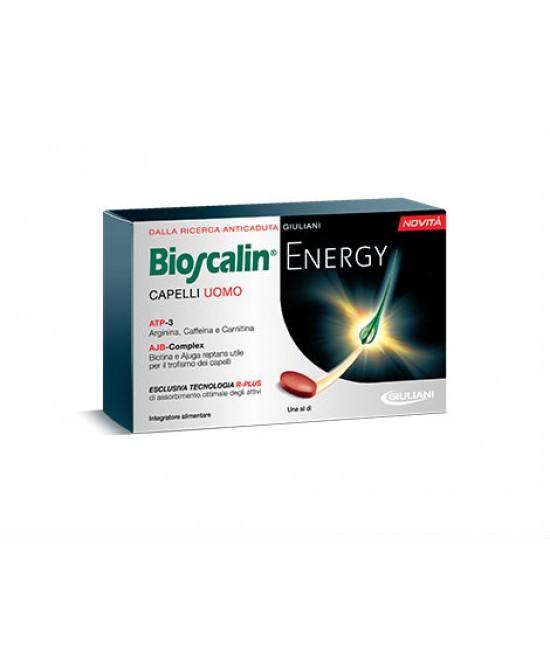 Bioscalin Energy Capelli Uomo Integratore Alimentare 30 Compresse - FARMAEMPORIO