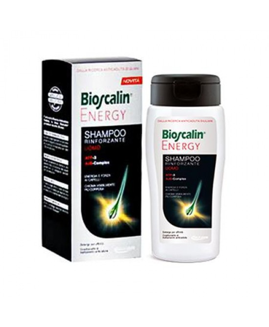 Bioscalin Energy Shampoo Rinforzante 200ml - Farmastar.it