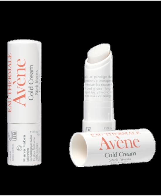 Avène Cold Cream Stick Labbra 4g - FARMAEMPORIO