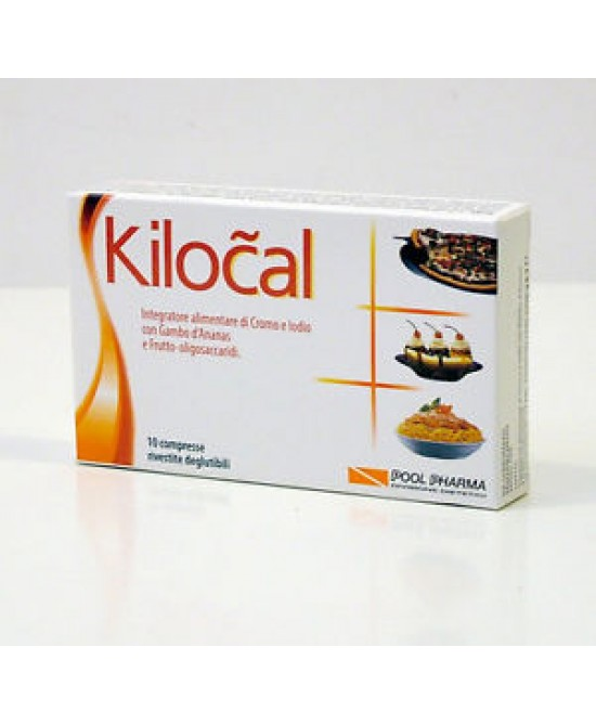 Pool Pharma Kilocal Integratore Alimentare 10 Compresse - farma-store.it