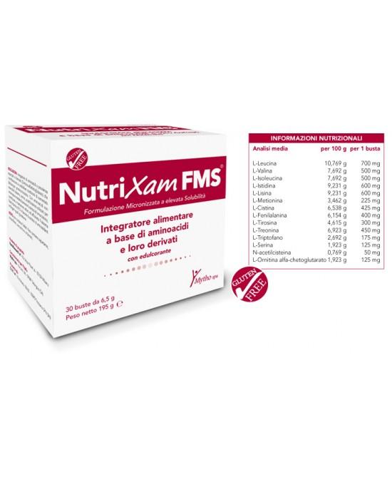 NutriXam FMS Integratore Alimentare 30 Bustine - Zfarmacia