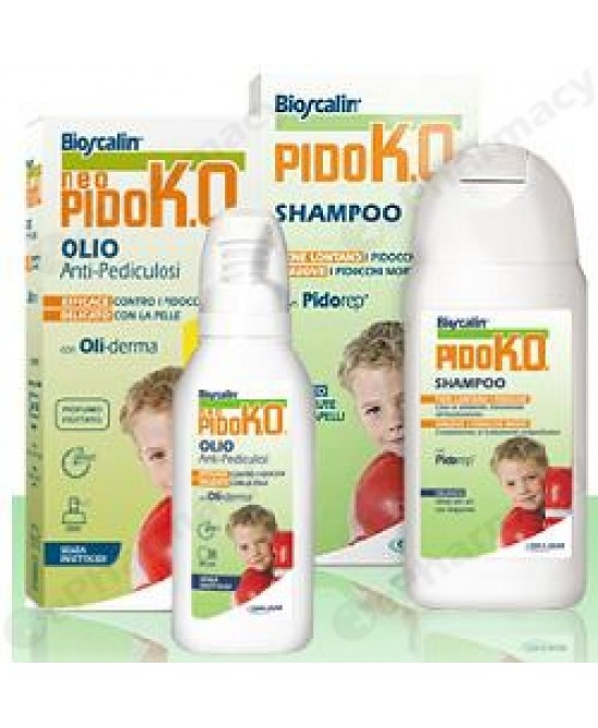Bioscalin PidoK.O. Olio 75ml + Shampoo 150ml - Farmastar.it