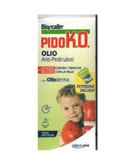 Bioscalin PidoK.O. Olio Sp 100 + Pettinino 75ml - Farmastar.it