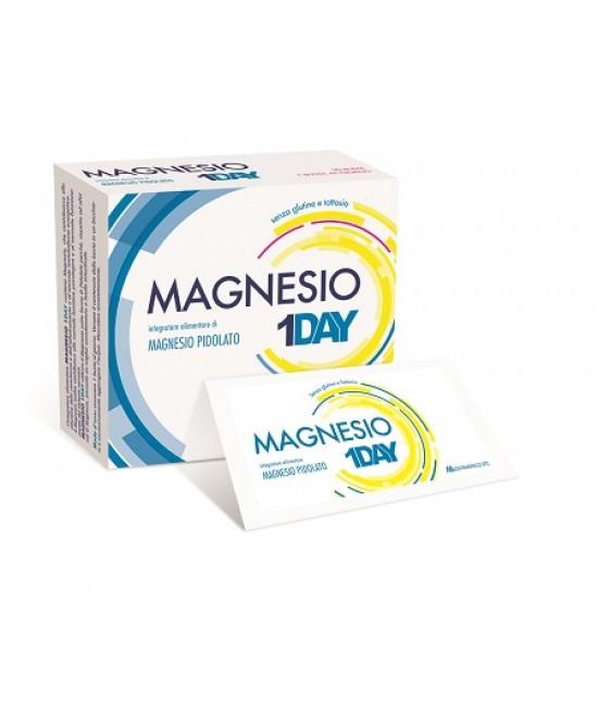 Magnesio 1Day Integratore Alimentare 20 Bustine - La tua farmacia online