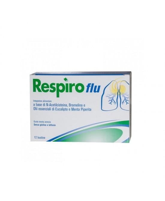 Respiro Flu Integratore Alimentare 12Bustine - Farmacia 33