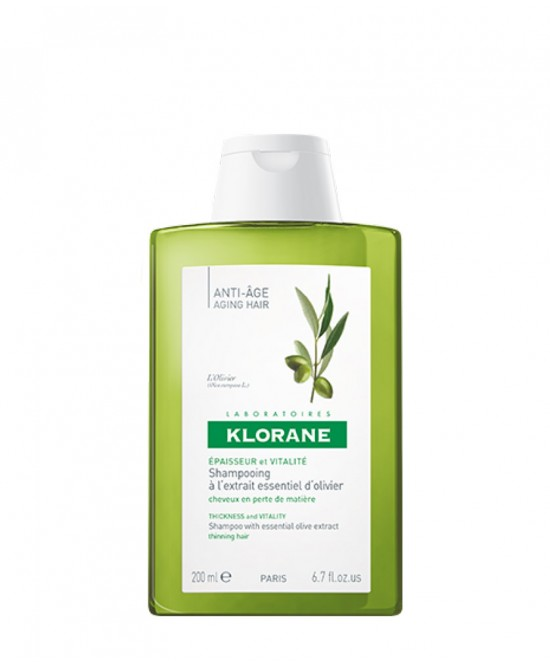 Klorane Shampoo All'Estratto Essenziale Di Ulivo 200ml - Farmamille