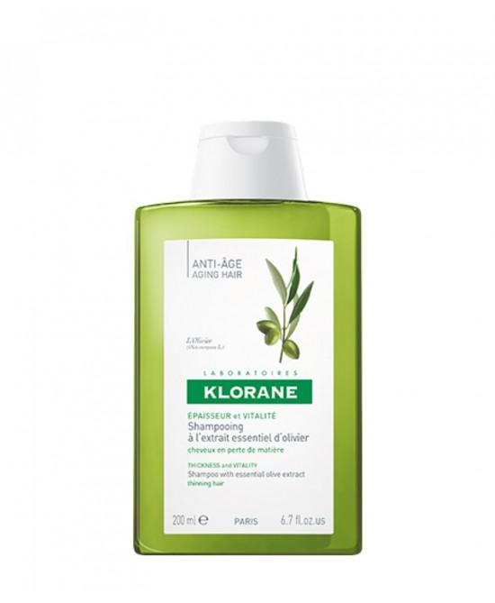 Klorane Shampoo all'Estratto Essenziale di Ulivo 200 ml - Farmalilla