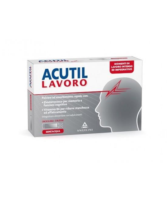 Acutil Lavoro Integratore Alimentare 12 Bustine - Farmamille